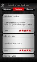 Screenshot of Speeq Polish   Spanish free