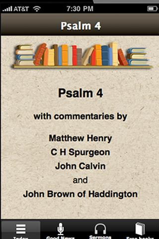 Psalm 4 with commentaries