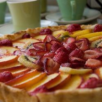 No Skill Fruit Tart