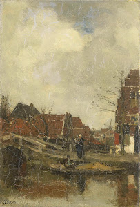 RIJKS: Jacob Maris: painting 1883