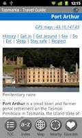 Screenshot of Tasmania, Australia-FREE Guide