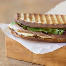 Speck, Taleggio and Fig Jam Panini