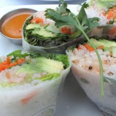 Crab-and-Perilla Summer Rolls Recipe