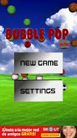 Screenshot of Bubble Pop 3D