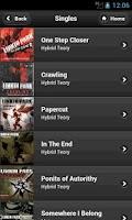 Screenshot of Linkin Park Fan