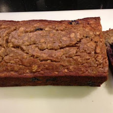 Ashley's Healthy (Whole Wheat Oatmeal) Banana Bread