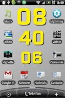 Screenshot of Clock Styler FREE