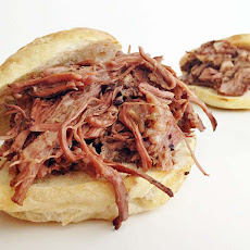 Crock pot Shredded French Dip