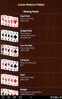 Screenshot of Loose Deuces Poker