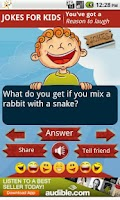Screenshot of Funny Jokes for Kids