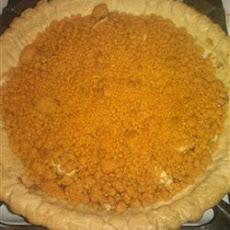 Apple Butterscotch Crumb Pie
