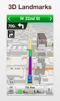Screenshot of VZ Navigator Galaxy Note II