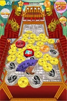 Screenshot of Coin Dozer: World Tour