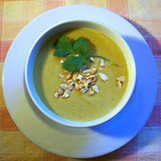 Curried Coconut and Peanut Soup