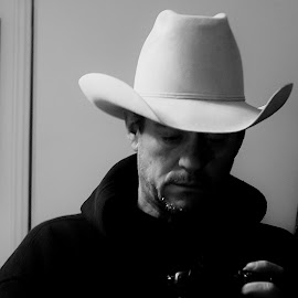 Cowboy by Randy Young - People Portraits of Men