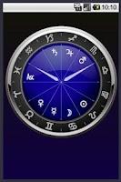 Screenshot of Horo-Clock Widget (Beta) R8