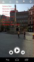 Screenshot of Slit Scan Camera Lite
