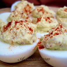 Diet Deviled Eggs
