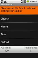 Screenshot of William Wilson: Shmoop Guide
