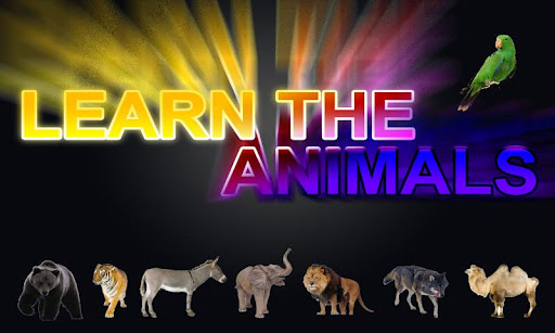 Learn The Animals
