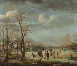 RIJKS: Aert van der Neer: painting 1660