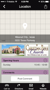 Christian Bible Church - screenshot