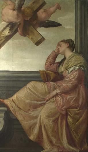 Veronese Paolo, Sogno di Sant'Elena