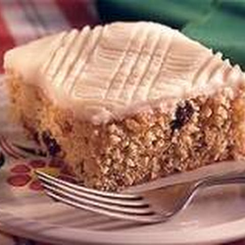 Applesauce Cake with Hot Milk Frosting