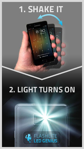 Flashlight LED Genius PRO