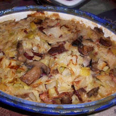 Mightyro's Bacon, Leeks and Cabbage Casserole
