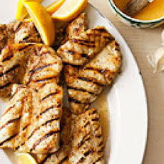 Wine-Glazed Grilled Halibut