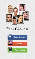 Screenshot of Face Changer