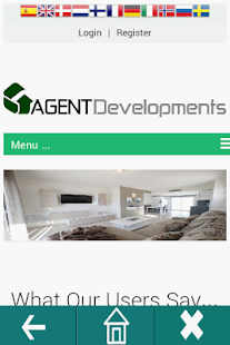 Agent Developments - screenshot