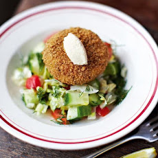 Cajun Salmon & Prawn Fishcakes
