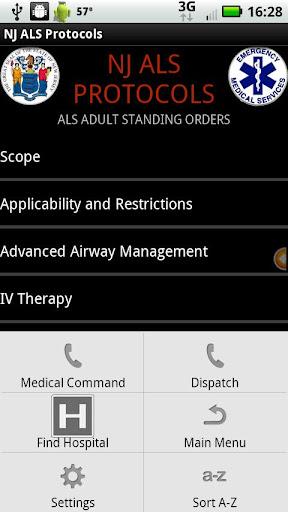 【免費醫療App】NJ ALS Protocols - AC-APP點子