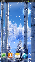 Screenshot of Snowfall 2014 LWP
