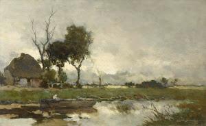 RIJKS: Johan Hendrik Weissenbruch: Autumn Landscape 1903