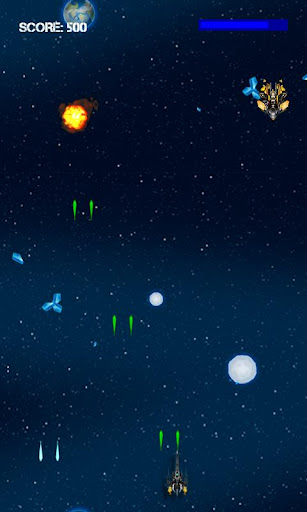 alien-battleship-galaxy-war for android screenshot