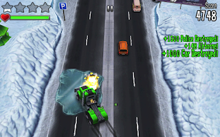 Screenshot of Reckless Getaway