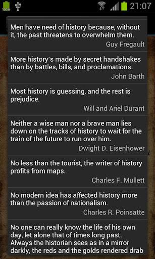 玩免費書籍APP 下載History Quotes app不用錢 硬是要APP