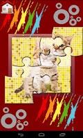Screenshot of Kids ABC Jigsaw Puzzle Game