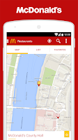 Screenshot of McDonald's UK