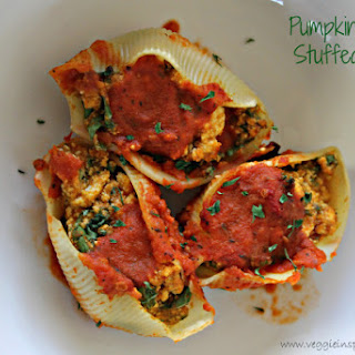 Pumpkin and Kale Stuffed Shells