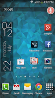 Screenshot of Nexus Triangles LWP Free