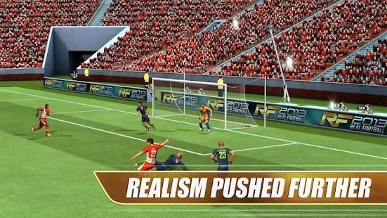 Real Football 2013 APK for Bluestacks