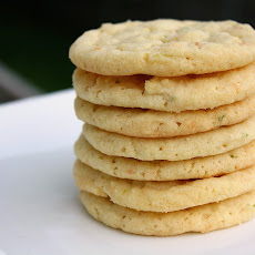 Chewy Lime Sugar Cookies