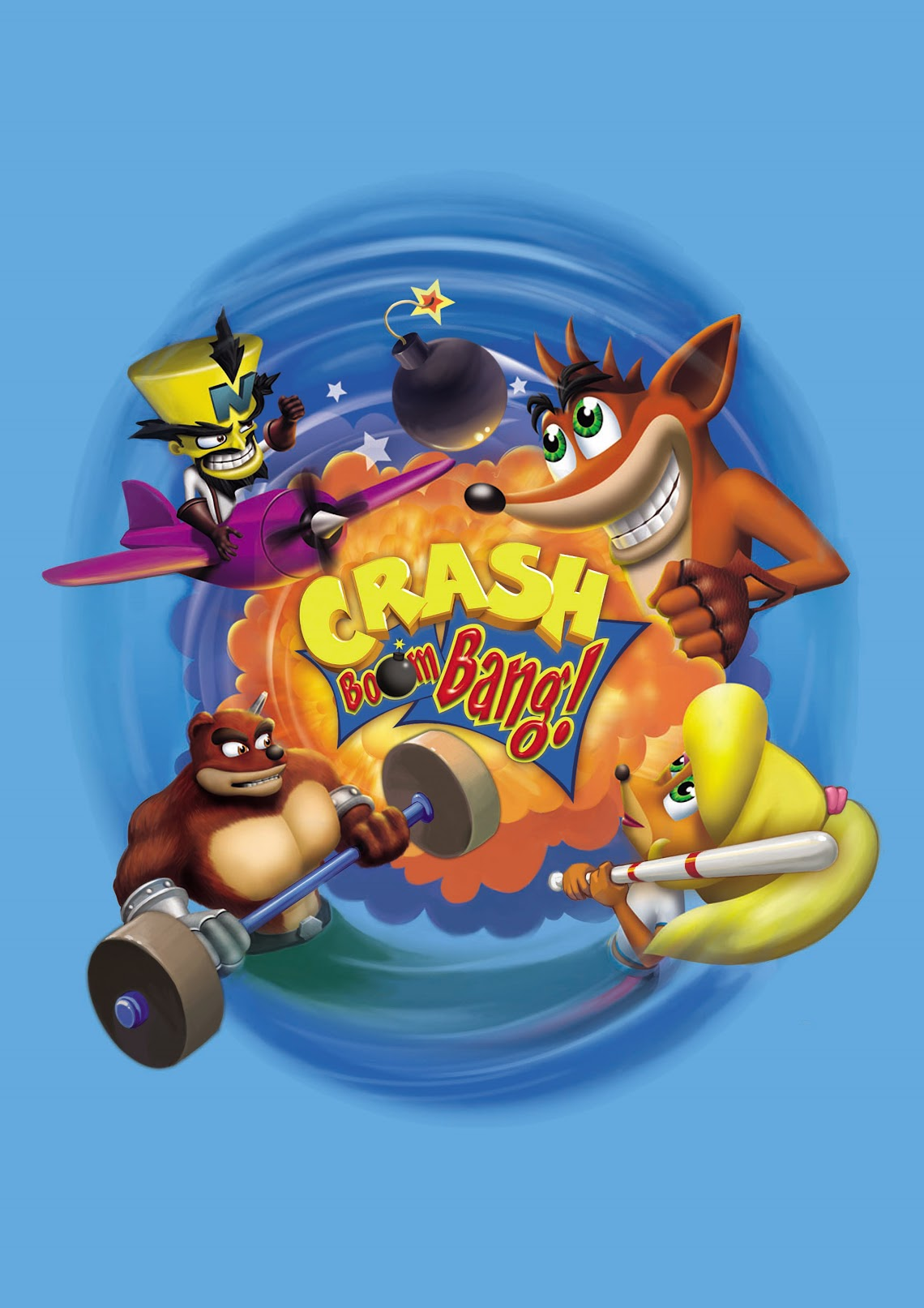 Crash Bandicoot Party