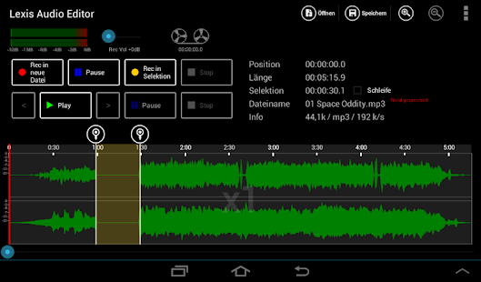 Audio Editor for Android 1.0.5 APK Download - roman10