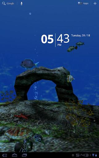 海洋水族館3D壁紙