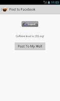 Screenshot of Caffeine Tracker Lite